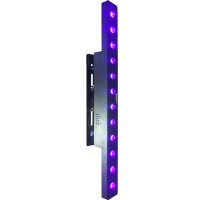 UV capable linear wash with up to 12 x 15 watts of UV output