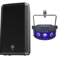Single EV speaker & Chauvet effects light