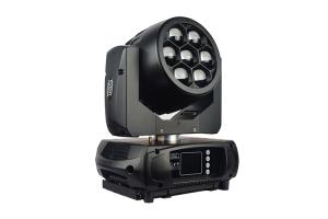 BM7W10RGBW - 7X 10W RGBW LED Battery Wash Zoom Head with Wireless DMX