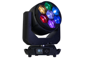 ENFORCER7X60BE - 7x 60 W Zoom Wash Moving Head with Pixel Control