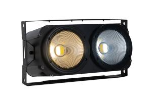 BLINDERWW - 2x 100 W Cool & Warm White 2-in-1 COB LED Blinder