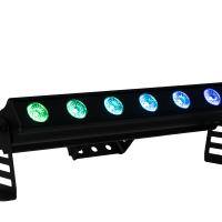 PIXBAR6X12 - 6x 12 W RGBWAU Pixel Control Bar
