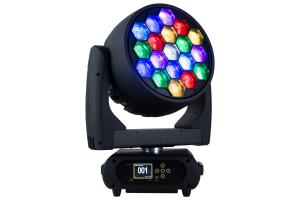 M19W40RGBW - 19x 40 W RGBW LED Pixel Control Wash Zoom Head