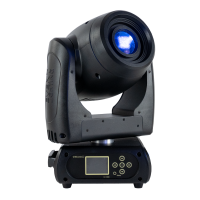 M1S80W - 80 W LED Spot Moving Head