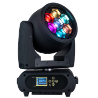 M7W40RGBW - 7x 40 W RGBW LED Pixel Control Wash Zoom Head